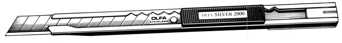 OLFA SVR-2 MULTI-BLADE KNIFE Stainless Steel