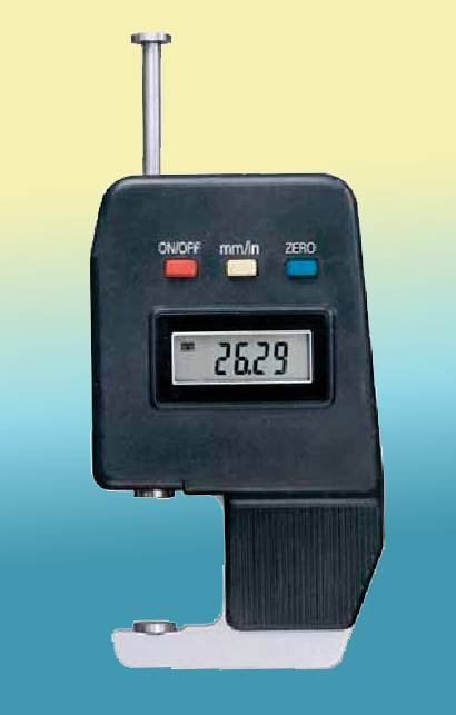 DIGITAL THICKNESS GAUGE Gaebel 650 Paper Gauge