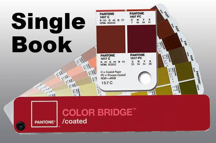 PANTONE COLOR BRIDGE Single Book, COATED Stock