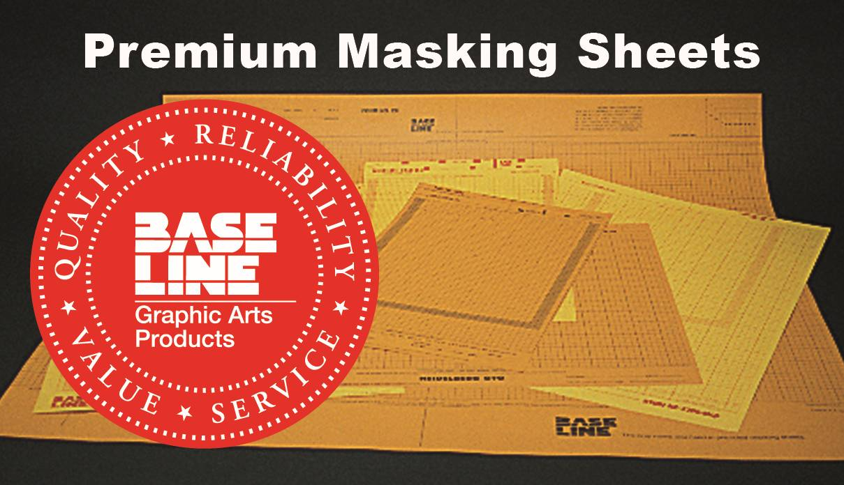 "MASKING SHEETS - QUICKMASTER 46, 13-3/4"" x 19-7/8"""