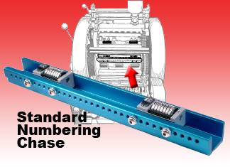"NUMBERING CONVERSION KIT For AM Multi 1250 (10""x15"") Chute or Chain Delivery"