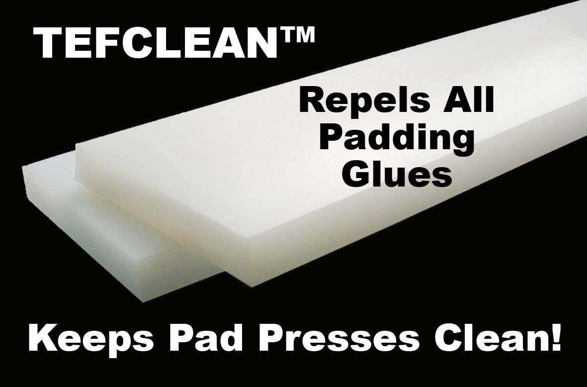 "PAD PRESS TEFCLEAN SHIM SET 4""W x 18-1/2""L x 1/2"" Face Set of 2 Shims"
