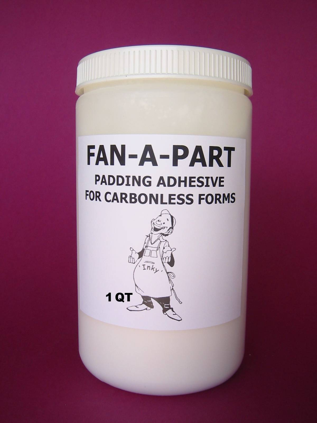 FAN-A-PART ADHESIVE - 1 Qt 3M, NCR, MEAD Papers