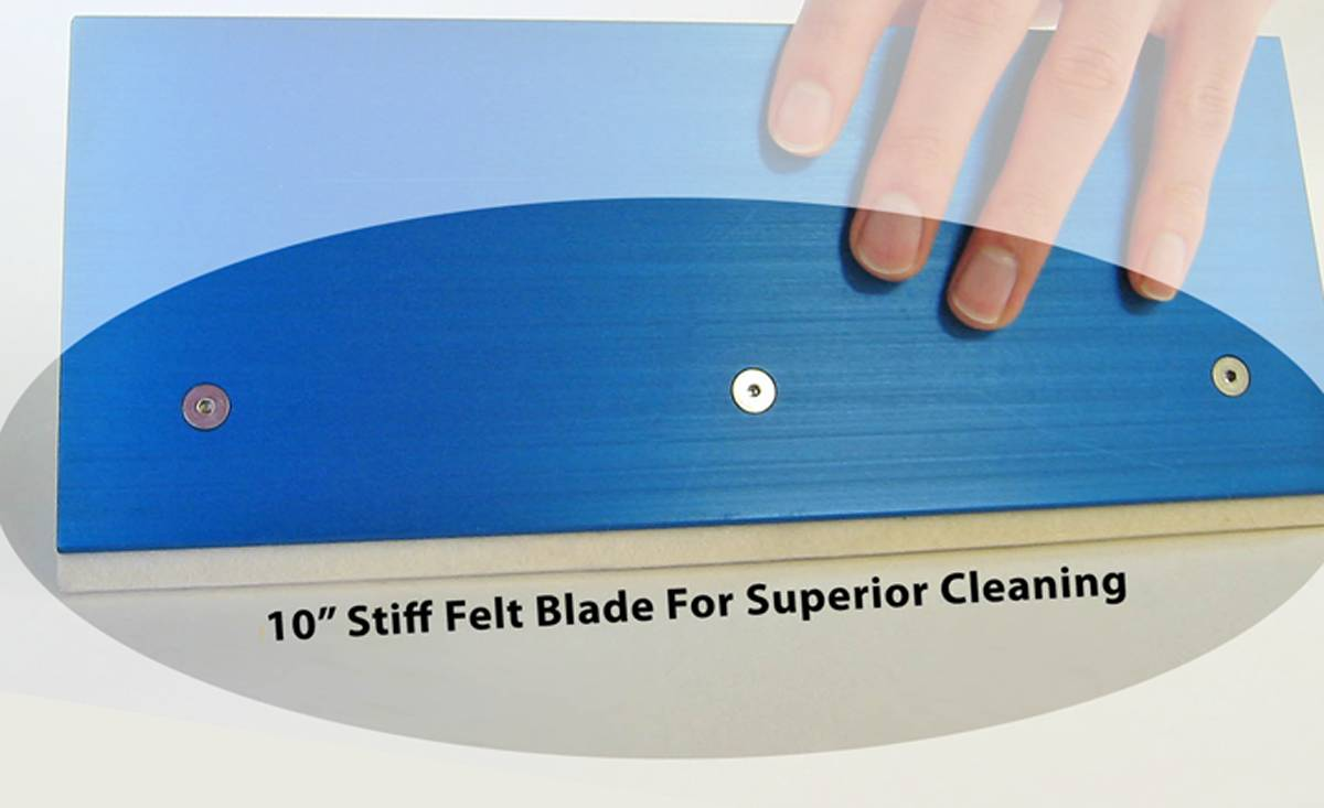 FELT CLEANER BLADES - QTY:12 For Impression Cylinder Cleaner, Item PP0250