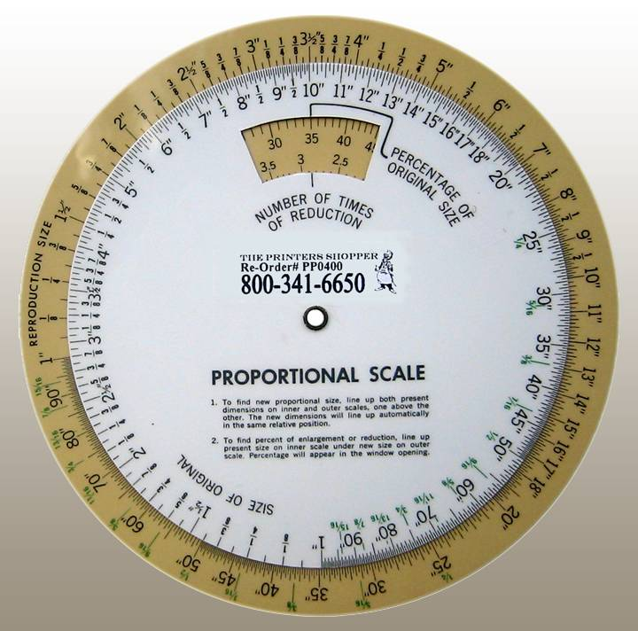 "6"" PROPORTION WHEEL"