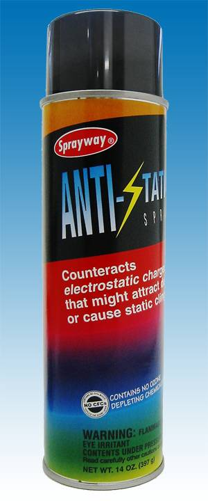 ANTI-STATIC SPRAY 955 14 oz. by Sprayway