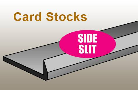 SLIT RULE - CARD/SIDE/10 FT