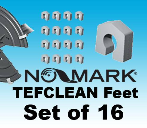 'NO-MARK' TEFCLEAN FEET Set of 16, Fully Adjustable