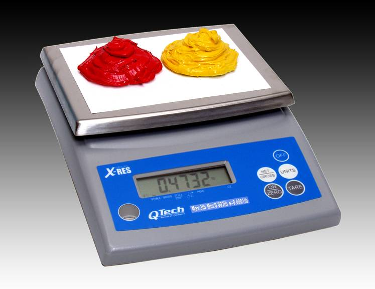 LCD INK MIXING SCALE - 12 LB