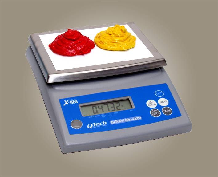 LCD INK MIXING SCALE - 3 LB